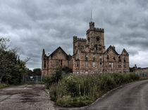 Abandoned psychiatric hospital in Scotland also a filming location for the new Batman movie