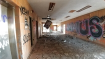 Abandoned Psychiatric ward in Northville MI