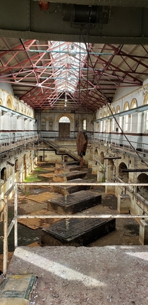 Abandoned pumping station