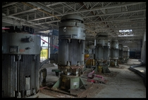 Abandoned Pumping Station  by RiddimRyder