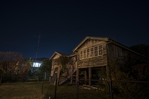Abandoned Queenslander house in Brisbane Australia  x