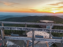 Abandoned radar base in Northern Vermont