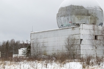 Abandoned radar missile defense system