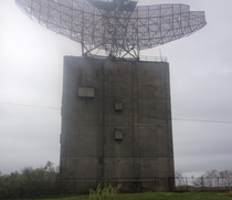 Abandoned radar tower Camp Hero Long Island