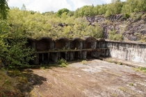Abandoned RAF Ammo Depot in Llanberis North Wales