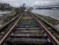 Abandoned railroad tracks - Olympia Washington