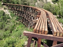 Abandoned Railroad Trestle Cloudcroft NM