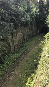 Abandoned Railway and Entrance to the Paris Catacombs