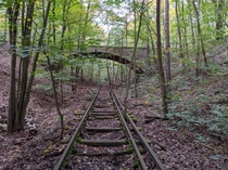 Abandoned railway line near Berlin