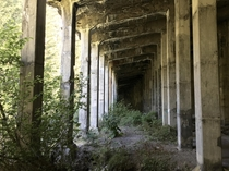 Abandoned Railway Snowshed Wellington WA USA  Deadliest Avalanche in American History