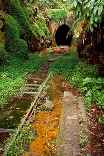 Abandoned Railway Station amp Tunnel New South Wales Australia
