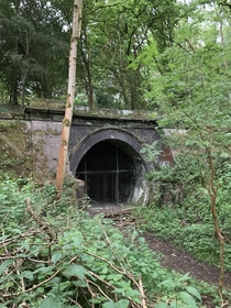 Abandoned railway tunnel in Northamptonshire Built in the late s and abandoned in the s