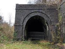 Abandoned Railway Tunnel One of  on this Welsh Disused Railway xoc