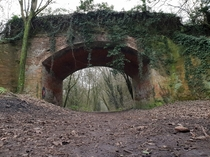Abandoned railway which ran out of money at Winchester  x  OC