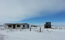 Abandoned Ranch Buildings on the Colorado-New Mexico Border