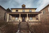 Abandoned rectory in the rust belt of America