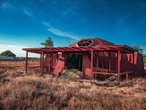 Abandoned Red Pigeon Dome
