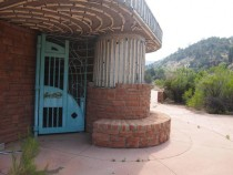 Abandoned Rest Stop Salt River Canyon AZ x