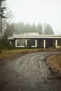 Abandoned roadside cafe Finland