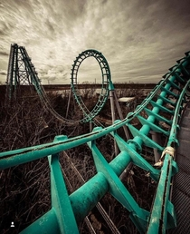 Abandoned Roller Coaster Unknown location