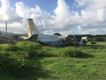 Abandoned Russian Cold War Plane Pearls Airport Grenada