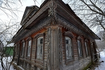 Abandoned Russian House in the Yaroslavl Region OS Gallery in comments