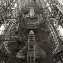 Abandoned Russian Space shuttles  x-post unsfwdreamer rMachinePorn