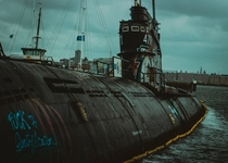 Abandoned russian submarine