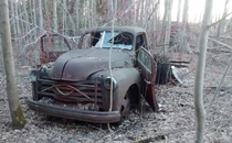 Abandoned s Chevy truck i found last fall