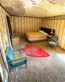Abandoned s Lovers Hotel w Time Capsule Rooms More info in comments