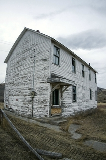 Abandoned s schoolhouse in rural Montana OC Album in comments