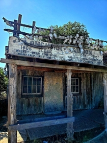 Abandoned Saloon Scenic SD - Indians Allowed