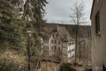 abandoned sanatorium in Germany by scruffybread
