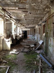 Abandoned sanatorium in Qubec