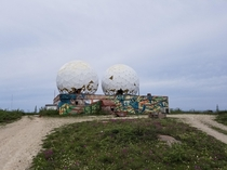 Abandoned SatCom Station Churchill Manitoba