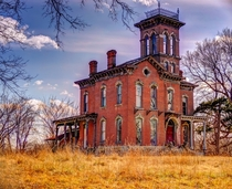 Abandoned Sauer Castle in Kansas City Kansas The home was built in
