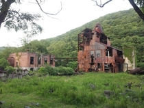 Abandoned Saw Mill near Green Bank WV