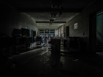 Abandoned School Flint MI