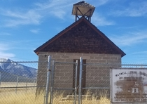 Abandoned school house  Mt Princeton CO USA