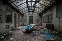 Abandoned school in United Kingdom