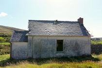 Abandoned schoolhouse in rural Ireland