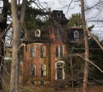 Abandoned second empire style house in Pennsylvania  Gallery in comments