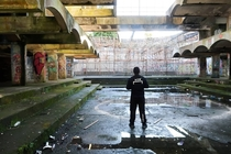 Abandoned Seminary in Cardross Scotland St Peters Seminary