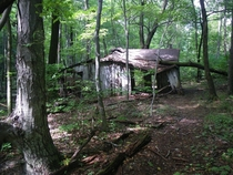 Abandoned shack Shenandoah National Park Virgina