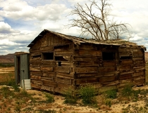 Abandoned shed in the Moab Desert Utah