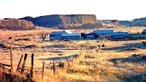 Abandoned sheep ranch in the Channeled Scablands of eastern Washington