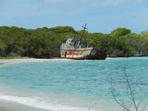 Abandoned ship in Carriacou Grenada