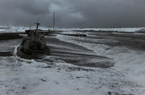 Abandoned ship in Chukotka Russia Photo Andrey Shapran