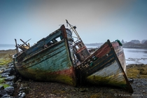 Abandoned ships on the Isle of Mull Scotland  Photo by Frank Simon xpost from rScottishPhotos