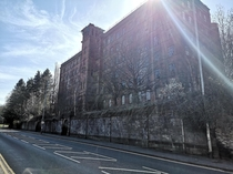 Abandoned Silk Mill Leek Staffordshire UK